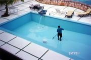 Чистка бассейнов от компании