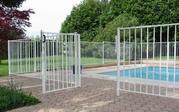 Ограждения для бассейнов и спорт площадок