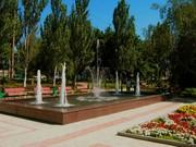 Строительство фонтанов.