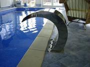 Водопад для бассейна.