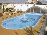 Установка готовых чаш бассейнов