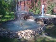 Строительство бассейнов, фонтанов, водоемов.