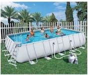 Прямоугольный каркасный бассейн Bestway 56209