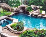 Обслуживание бассейнов и водоемов строительство,  чистка,  аксессуары