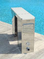 Навесной фильтрующий блок VMB 15 для фильтрации воды в бассейне