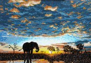 Мозаика,  панно из мозаики